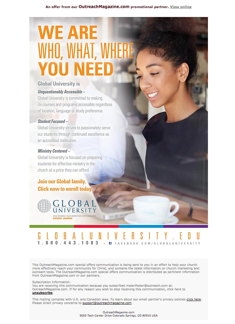 OutreachMagazine Email