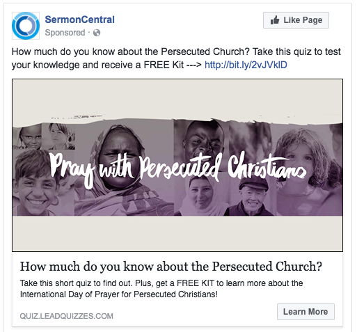 SermonCentral social