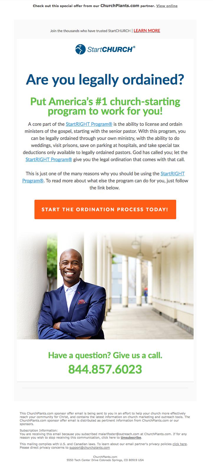 ChurchPlants Email