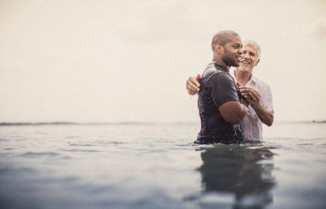Pastor Baptizing