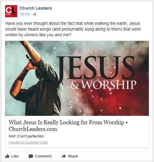 CL Worship Leaders social