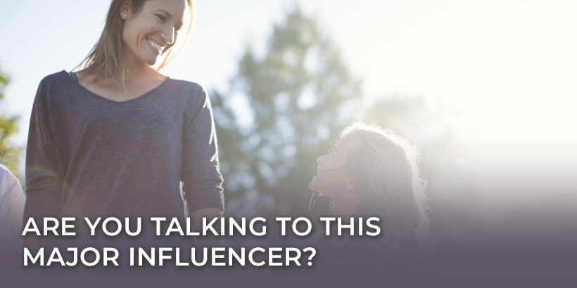 Reach Moms who are Influencers in the home