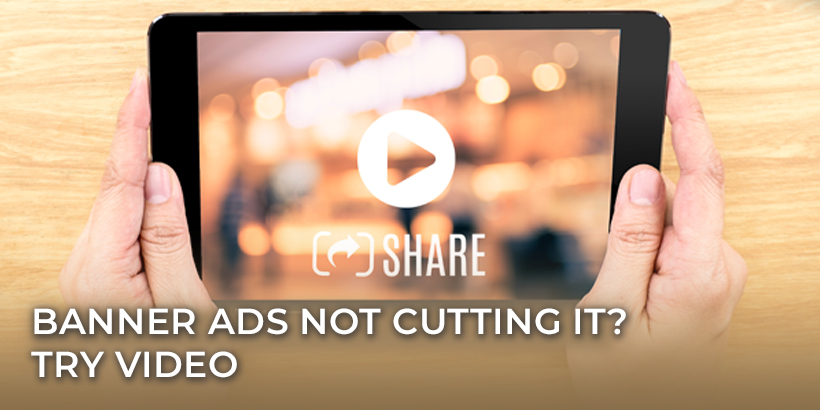 Here are the reasons why you should try video ads