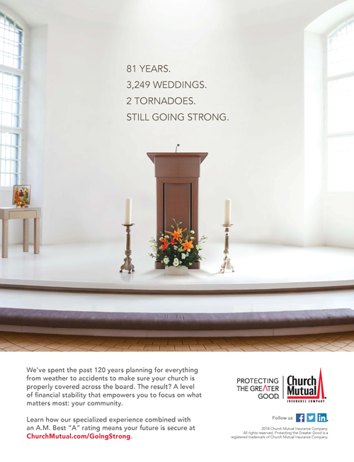 ChurchMutual Print Ad