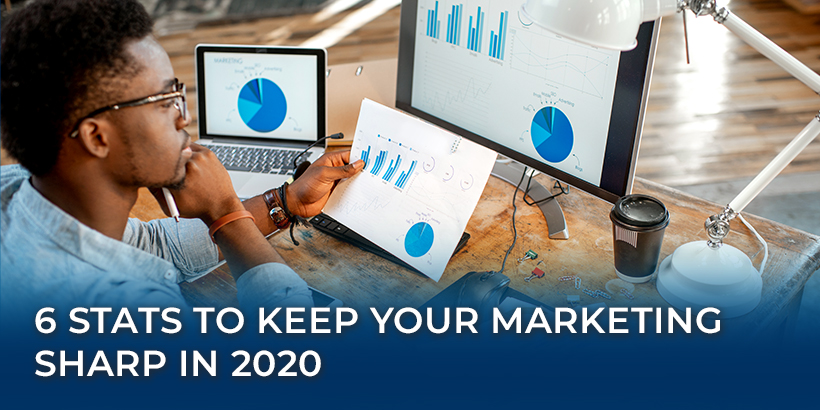 6 Stats to Keep Your Marketing Sharp in 2020